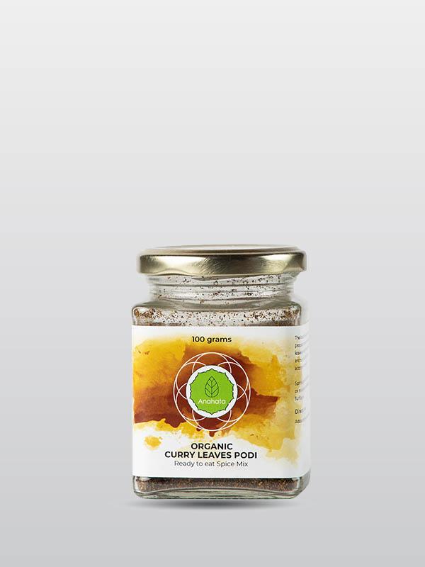 Organic Curry Leaves podi | Organic Products