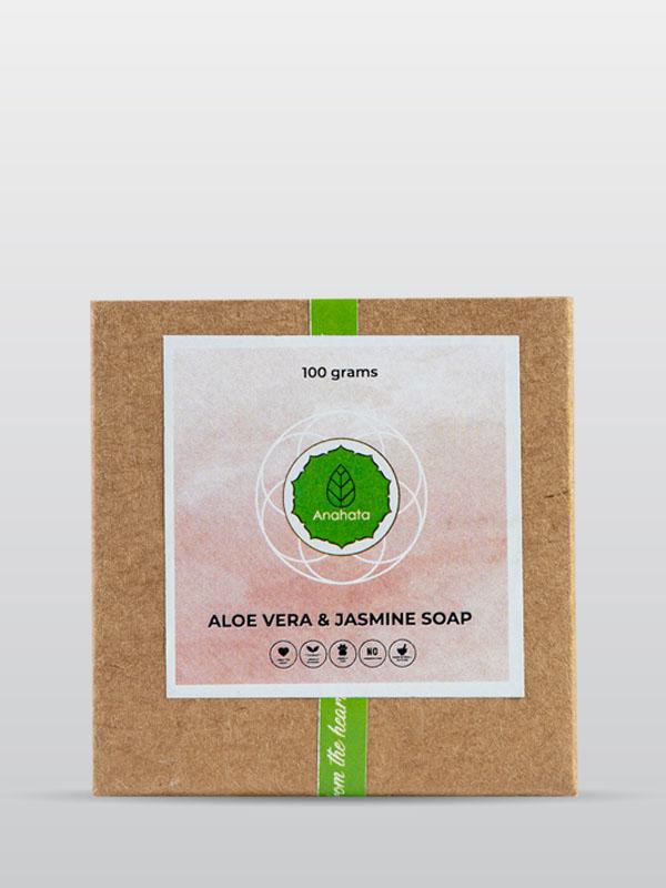 Aloe Vara and Jasmine Soap | Organic Soap | Jasmine Soap