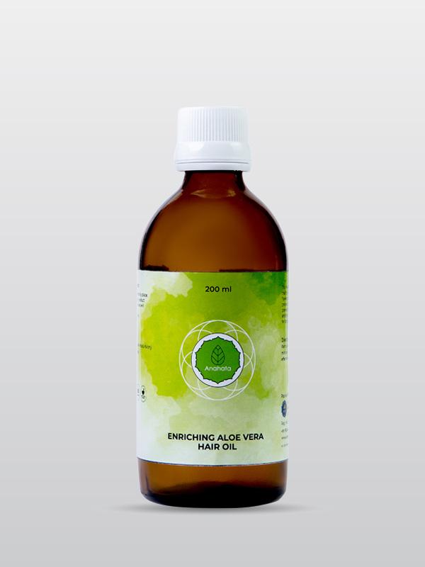 Enriching Aloe Vera hair Oil | Aloe Vera Hair Oil | Organic Hair Oil