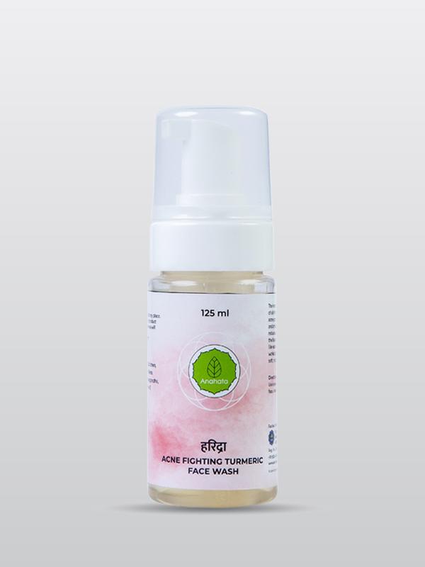 Acne Fighter Turmeric Face Wash Organic Face Wash | Skincare