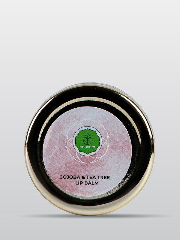 Jojoba and Tea Tree Lip Balm | Organic Jojoba Lip Balm | Skincare Products