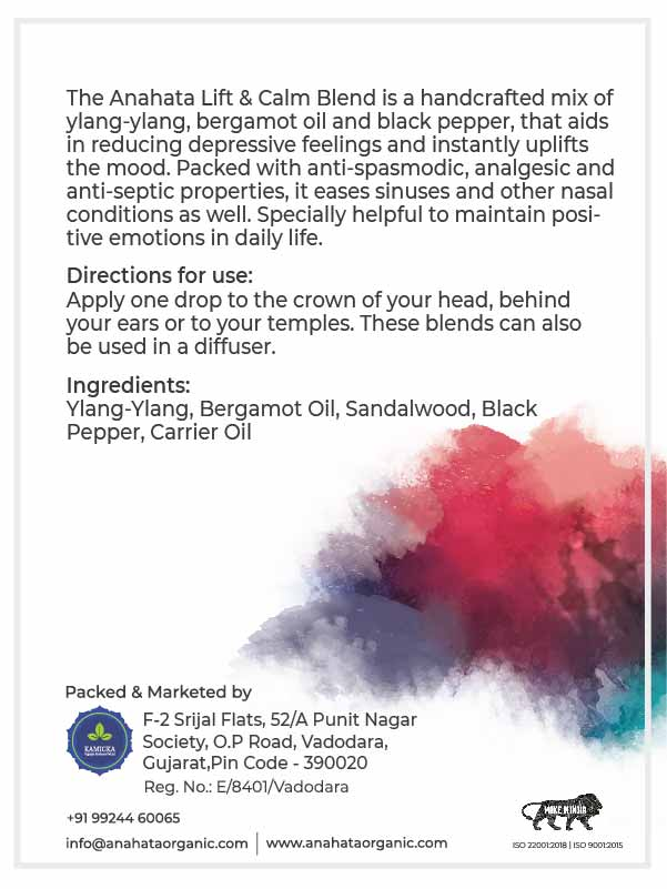 Lift and Calm Blend | Organic Bland | Organic Products