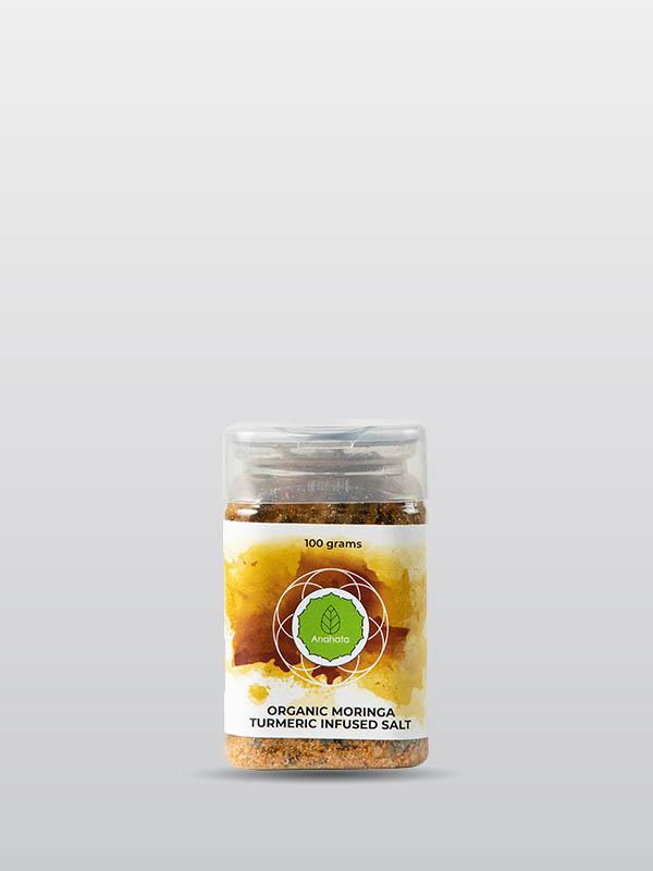Organic Moringa turmeric infused salt | Organic Products