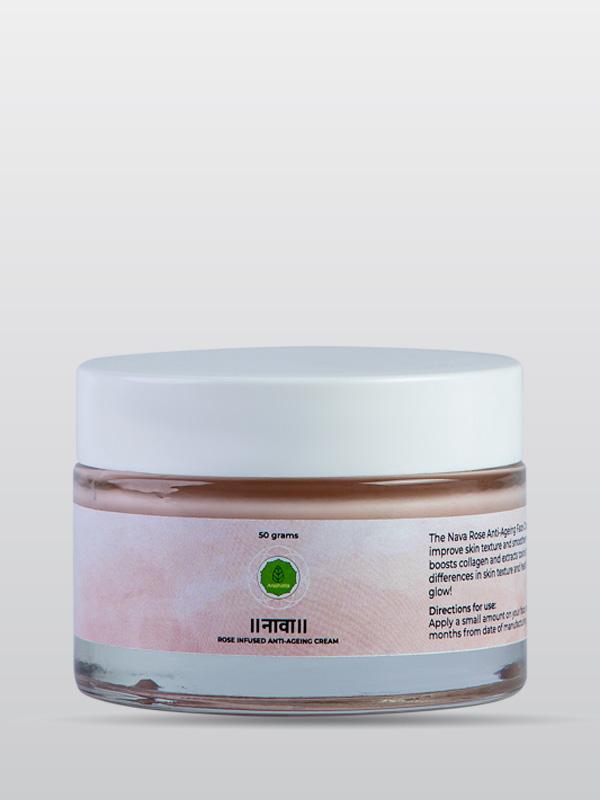 Rose Infused Anti-Aceing Cream   Organic Cream