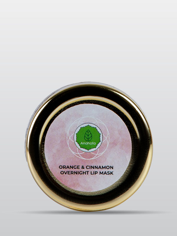 Orange and Cinnamon Overnight Lip Mask | Organic Lip Mask | Beauty Products