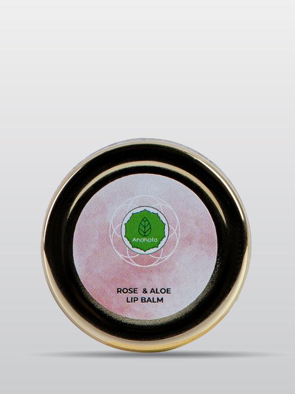 Rose and Aloe Lip Balm | Organic Rose Lip Balm | Beauty Products