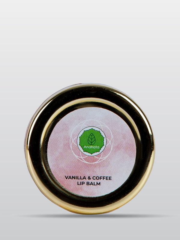 Vanilla and Coffee Lip Balm | Organic Lip Balm | Skincare