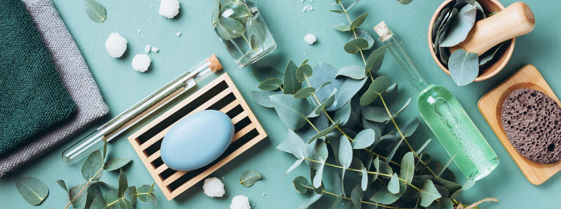 soap eucalyptus towels massage brush salt aroma oi 5YLZTF6 3 2