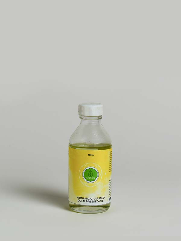 Organic Grapeseed cold pressed oil - 1