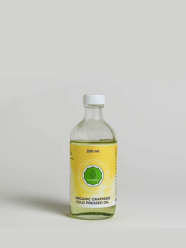Organic Grapeseed cold pressed oil -2