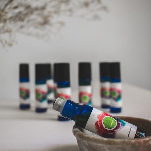 essential oils landing
